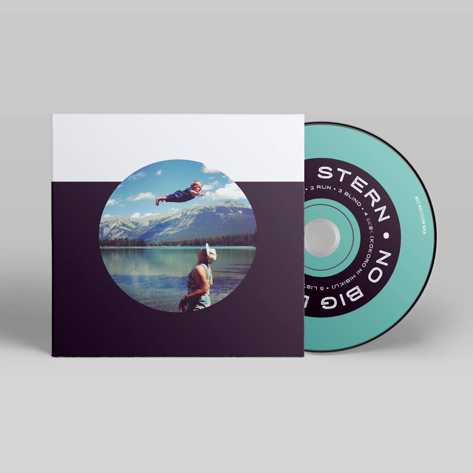 CD Sleeve Design for Matt Stern No Big Deal