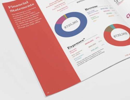 Annual General Report Design for CTAC