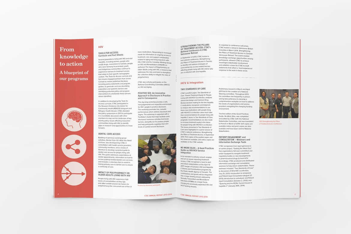 annual general report design for ctac pulp pixel