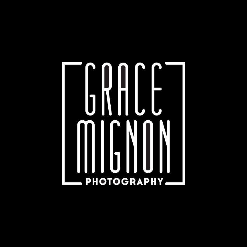 Grace Mignon Photography Logo Design