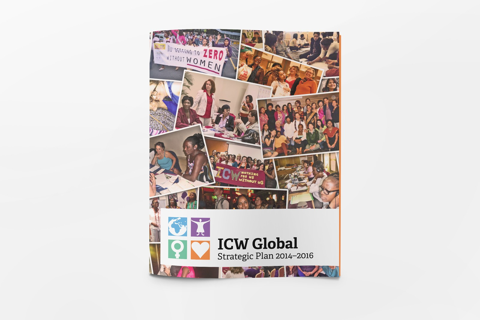 Graphic Design for ICW Global Strategic Plan