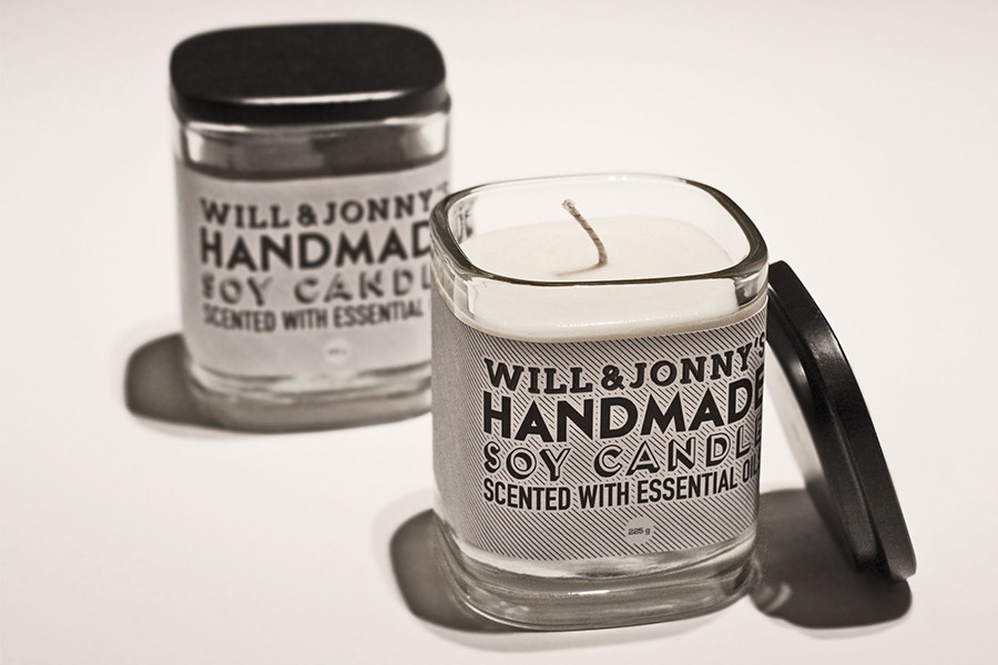 Soy Candle Label Package Design