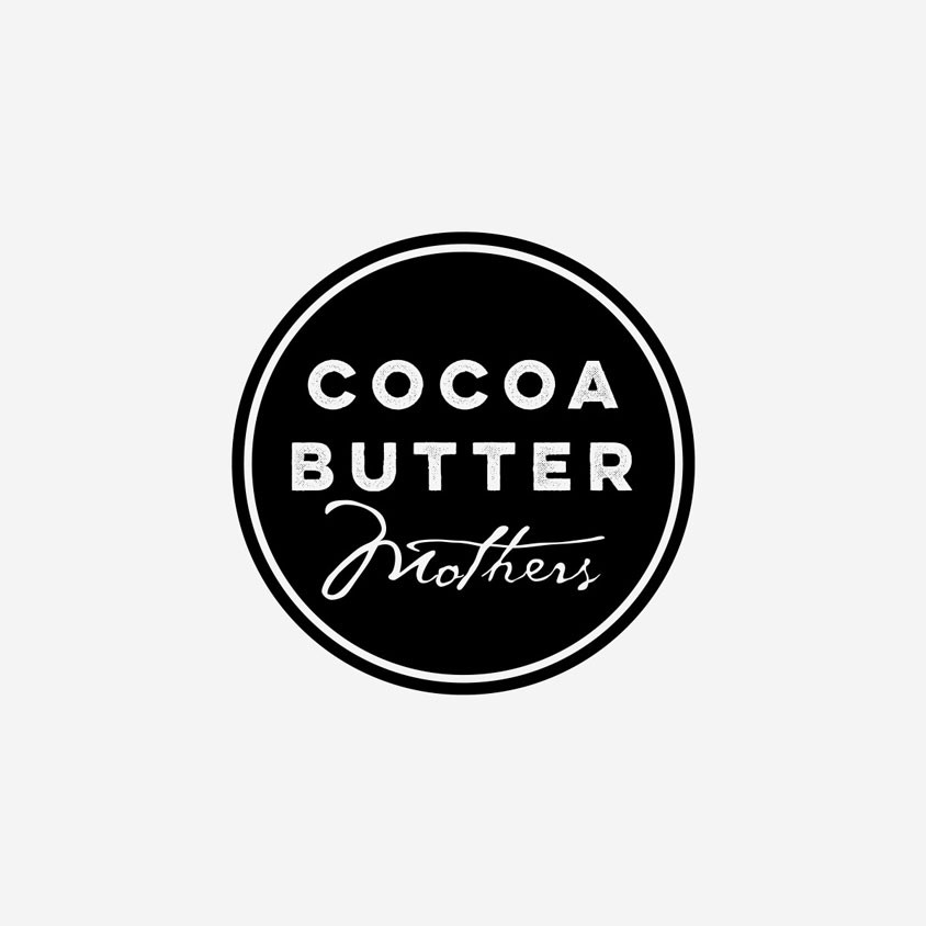 Cocoa Butter Mothers Logo Design