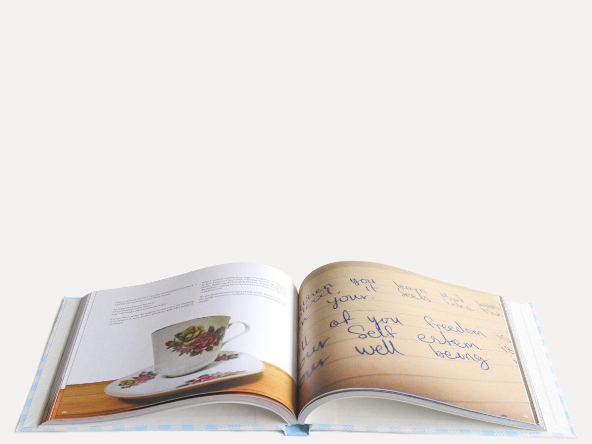Tea Time: Mapping Informal Networks of Women Living With HIV Book Design