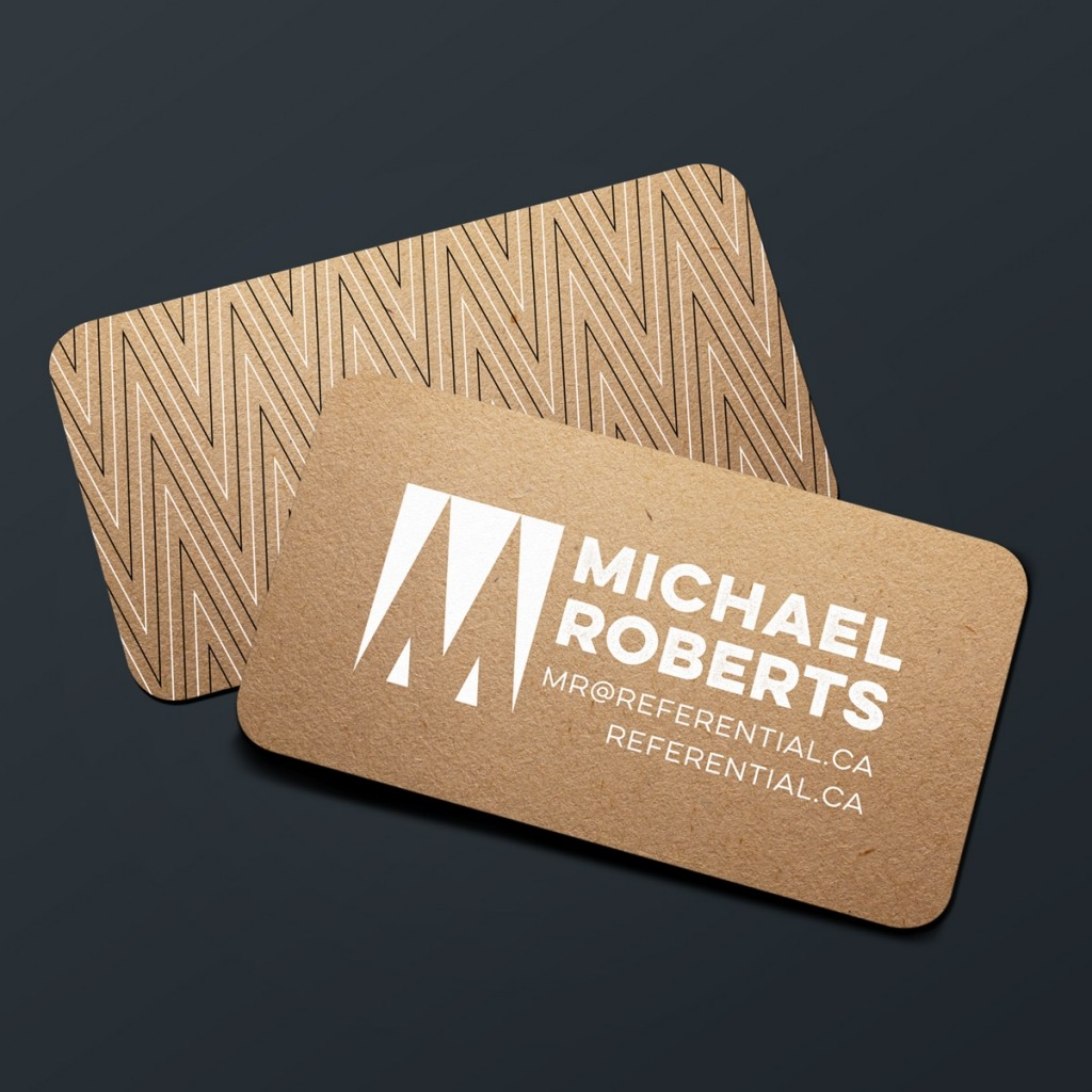 Michael Robers Business Card Design