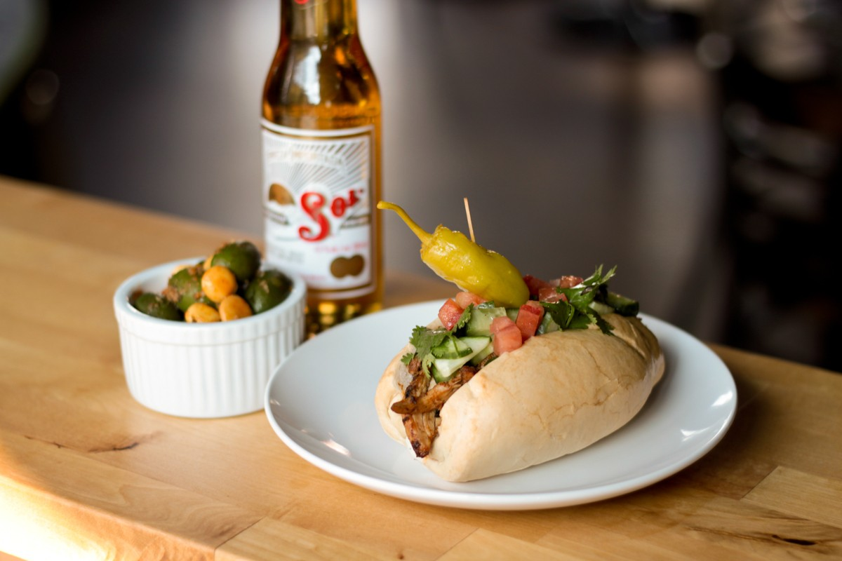 Royal Phoenix Bar Montreal Food Photography Poboy