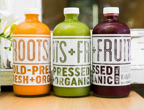 Roots+Fruits Vancouver Packaging Design