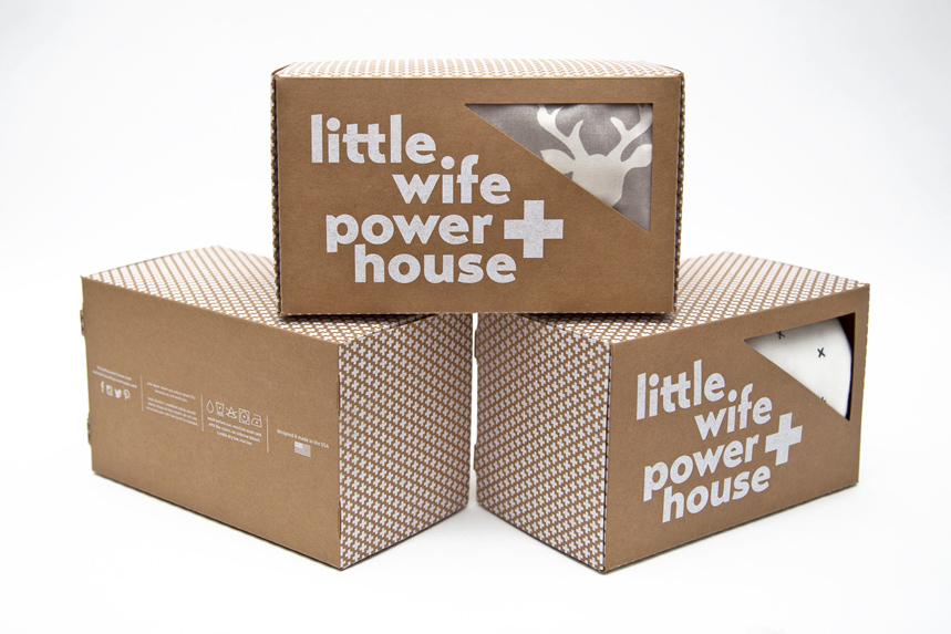Packaging Design for Little Wife Power House