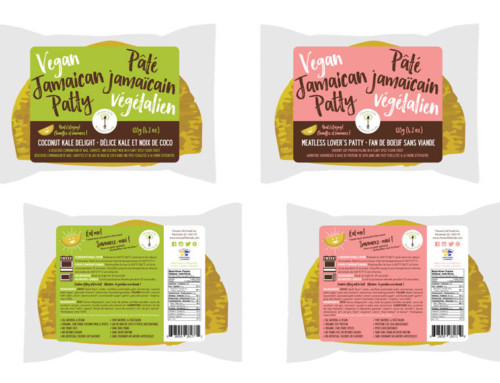 Packaging Design for Choose Life Foods' Vegan Jamaican Patties