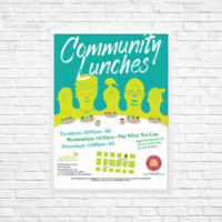 Gordon Neighbourhood House Vancouver Graphic Design