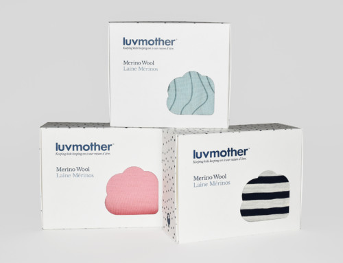 luvmother Retail Box Design