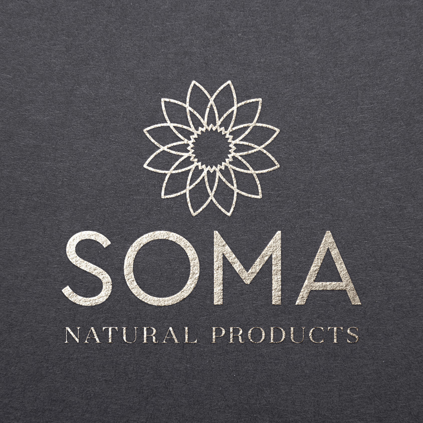 Soma Natural Products Montreal Logo Design