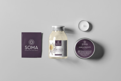 Soma Natural Products Montreal Packaging Design
