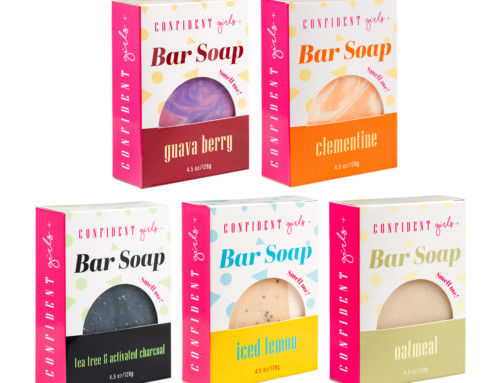 Soap Packaging Design for Confident Girls