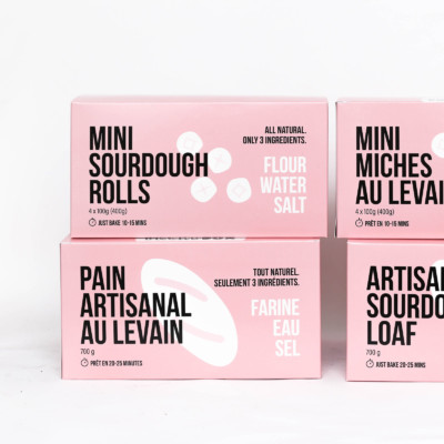 BreadBox Retail Packaging Design Montreal
